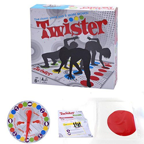 Kanzd Twister Games Twister Floor Game Twister Ultimate Game For Family And Party (Multicolor)