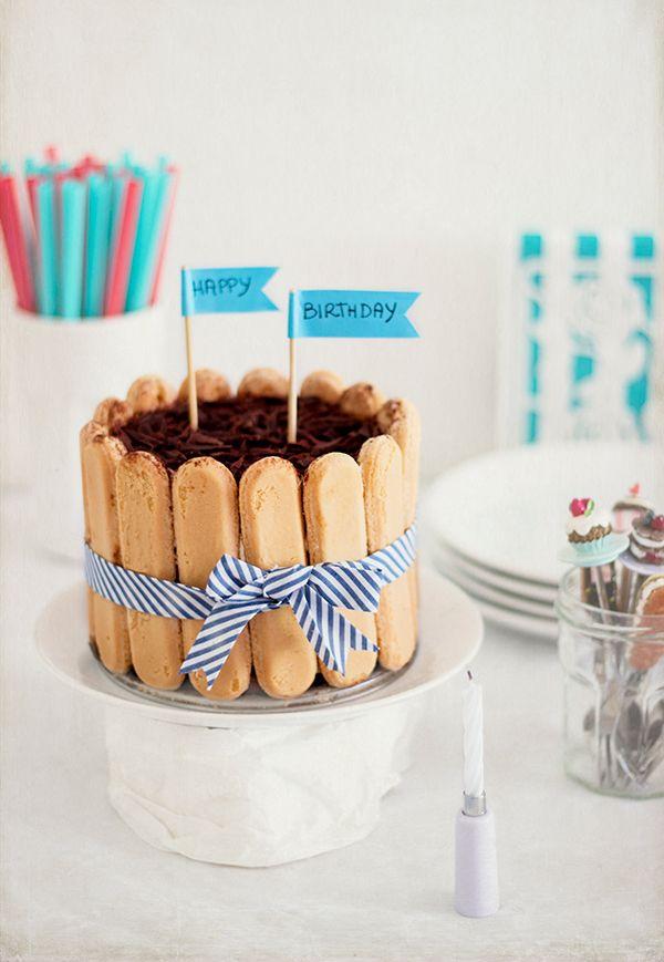 Friarielli & sound: Tiramisu cake {Feliz cumpleaños Ross!!}
