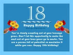 Funny 18th Birthday Wishes, 18th Birthday Messages Funny ...