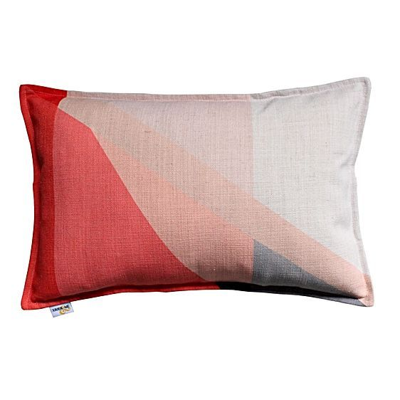 Splice Breakfast Cushion Cover, Rose by Xavier & Me
