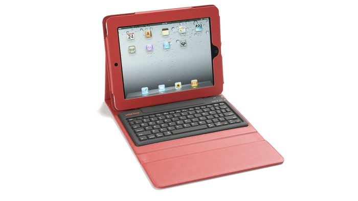 iPad Case with Built-in Keyboard  By Solid Line