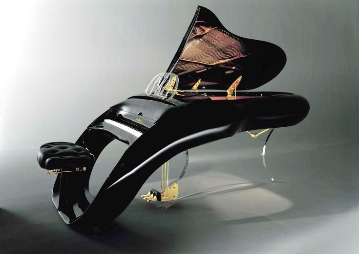 Schimmel Pegasus Grand Piano -- 14 of these pianos were made about 10 years ago for people like Prince, Eddie Murphy and Lenny Kravitz