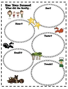 Free senses unit. Night Tree by Eve Bunting (K-2 Activities) - The Book Princess - TeachersPayTeachers.com