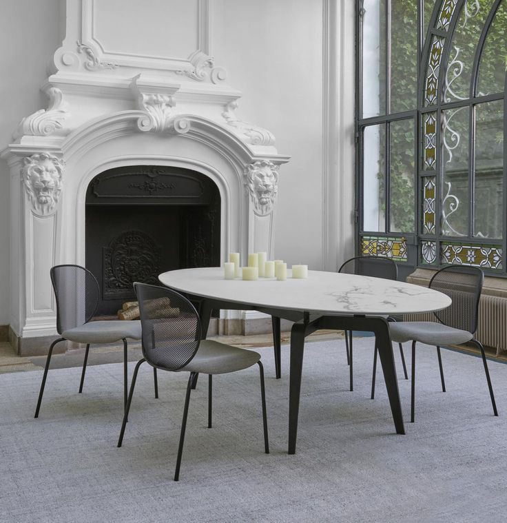 Odessa Dining Table Designed By Mauro Lipparini For LigneRoset