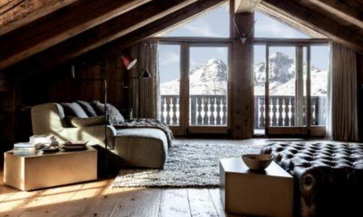 Winter fairy tales.... Chesa Sulagliva-Pontresina, interior by Casamilano contract division  #winter #xmas2017