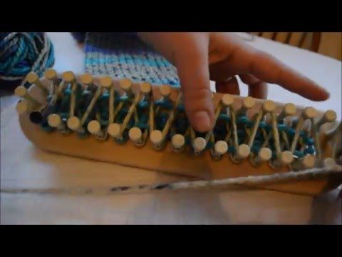 Loom Knitting Tips: Even Edges for Double Knitting on Long Looms - YouTube
