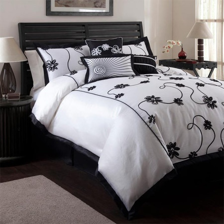 13 best images about home bedding on pinterest king size. Black Bedroom Furniture Sets. Home Design Ideas