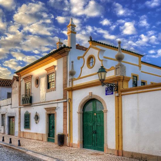 Streets Of Faro, Algarve, Portugal