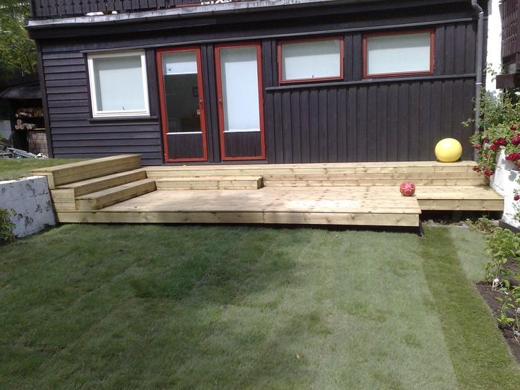 Terrasse bygget