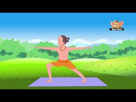 Yoga for Kids - Vol 1 (All Standing Postures) - YouTube (suggestions on poses to do with kids.. not a follow along in my opinion)