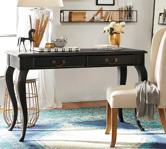 Ellis Desk | Pottery Barn-New vanity desk?