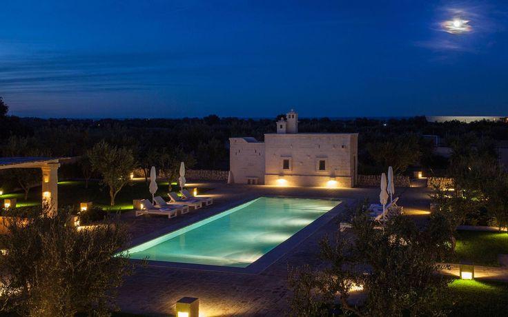 Villa sul mare in Puglia con piscina privata