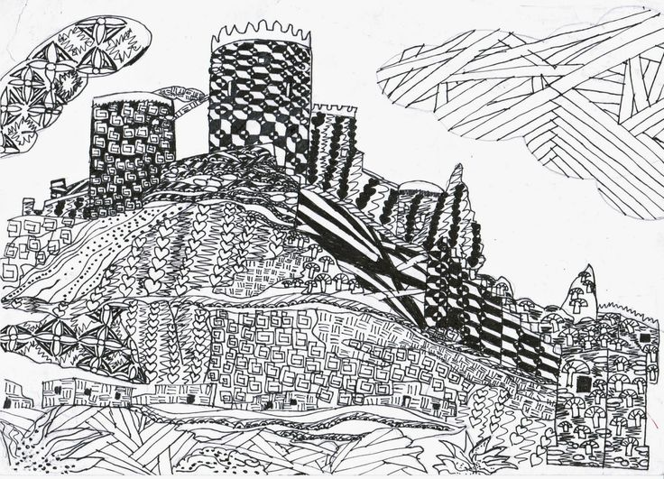EL ARTE DE CREAR. Actividades de aula: NUESTROS MONUMENTOS, REINTERPRETADOS CON EL ARTE ZENTANGLE