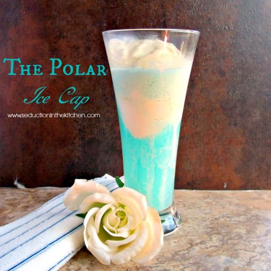 The Polar Cap Drink, a  fun drink recipe for #sundaysupper inspired by a 1980's B comedy movie.