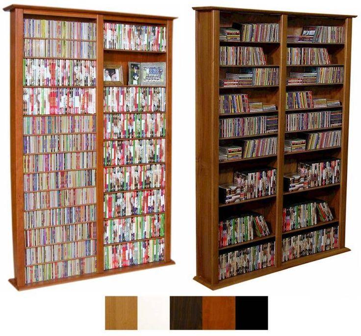 1508 CD 624 DVD Tower Storage DVD CD Rack 5 colors NEW #VentureHorizon