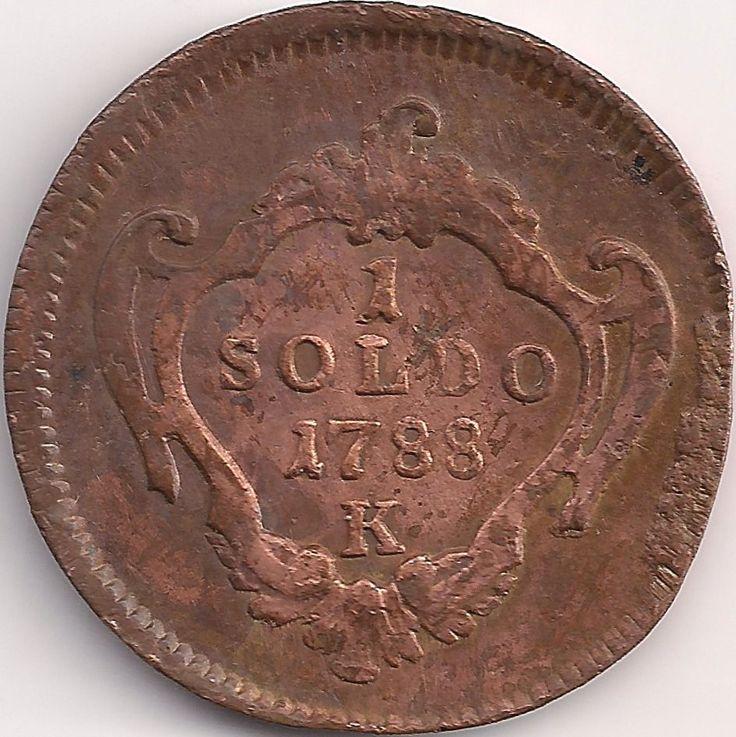 Wertseite: Münze-Europa-Südeuropa-Italien-Gorizia-Soldo-1-1788