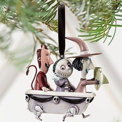 Goth Shopaholic: My 6 Favorite Nightmare Before Christmas Ornaments