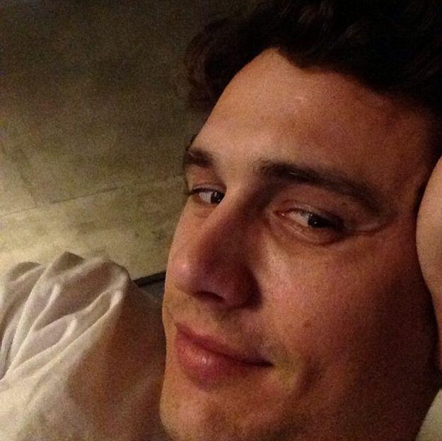 James Franco looked seductive: | James Franco looked seductive: