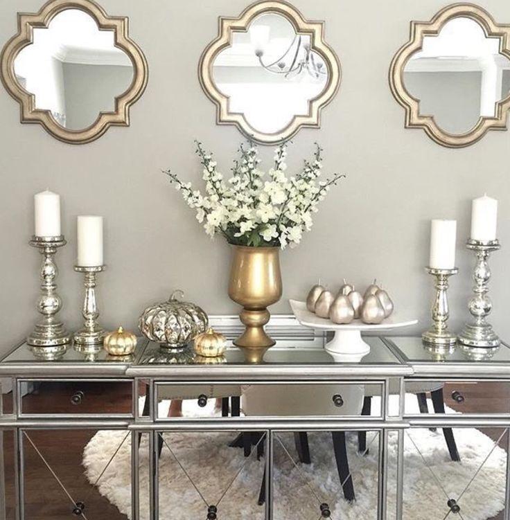 Home Decoration 2019: Fall Home Decor, Silver Living Room