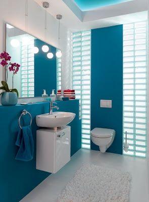 Azul en tu baño #semanacolor
