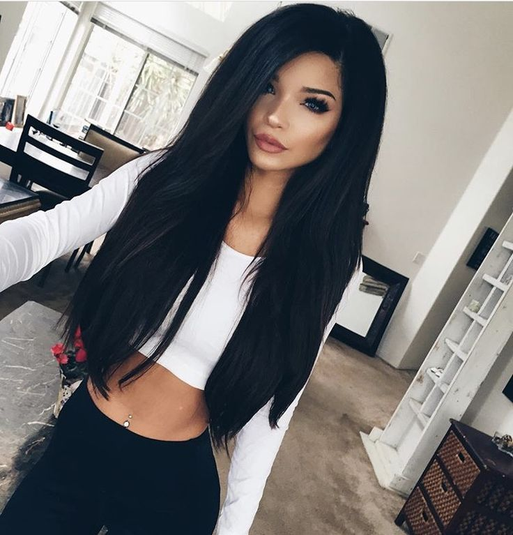 758 best hair images on pinterest braids hairstyle for long remy clips clip in hair extensions pmusecretfo Choice Image
