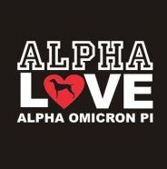 male wedding rings Alpha Omicron Pi LOVE