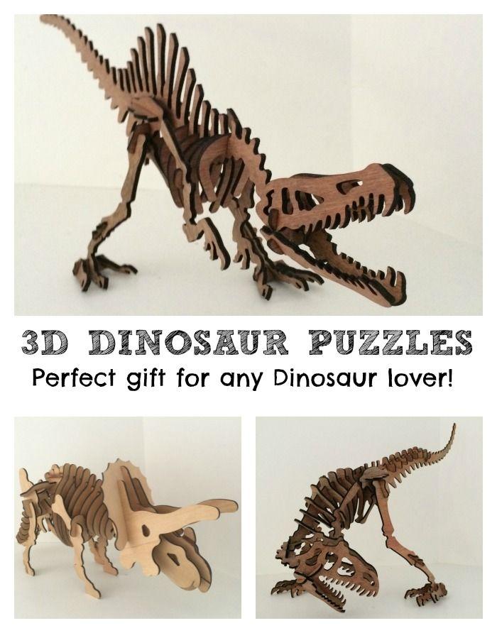 Huge Wooden 3d Dinosaur Puzzles Dinosaur Puzzles 3d Dinosaur Puzzle Dinosaur