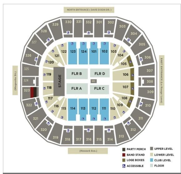 2 Selena Gomez tickets at Smoothie King Center, Nee Orleans, LA