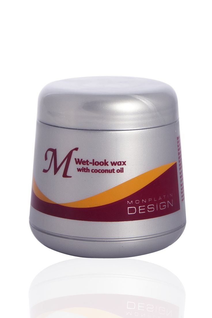 Wet-look wax with Vitamin E adds high sheen to the hair while softening and fixing. Suitable for all hair types, including permed hair.
