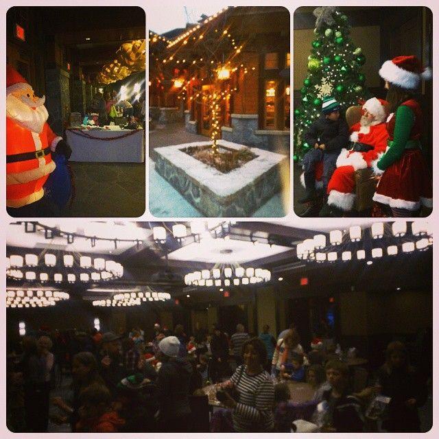Santa visits Nita! nitalakelodge's photo on Instagram