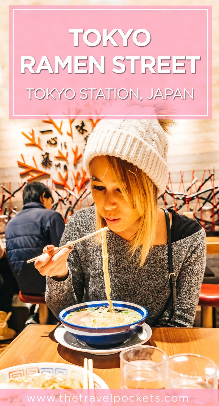 Trying out the best ramen in Tokyo, Japan at Tokyo Ramen Street! #Japan #Tokyo #ramen