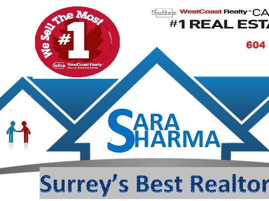 Sara Sharma, Realtor at Sutton Group West Coast Realty