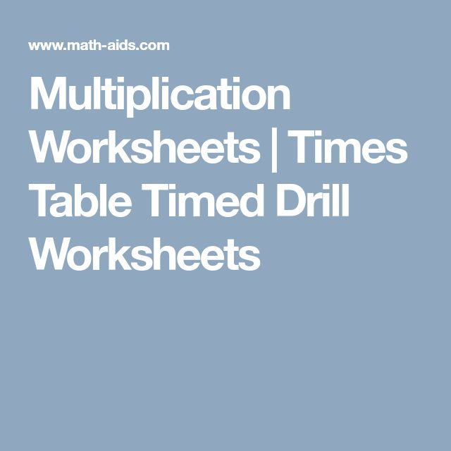 Best 25+ Multiplication times table ideas on Pinterest Maths - multiplication frenzy worksheet