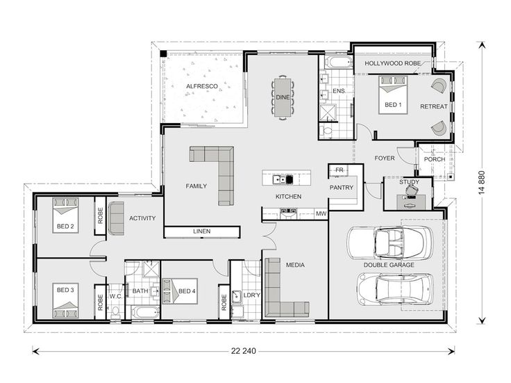 Coolum 268   Element, Our Designs, Custom Home Builder GJ Gardner Homes