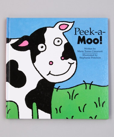 Take a look at this Peek-a-Moo! Lift-the-Flap Hardcover by World Publications on #zulily today!