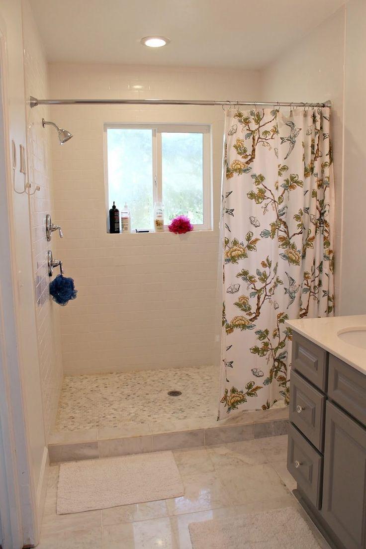 Best 10 shower no doors ideas on pinterest bathroom How often should you change your shower curtain