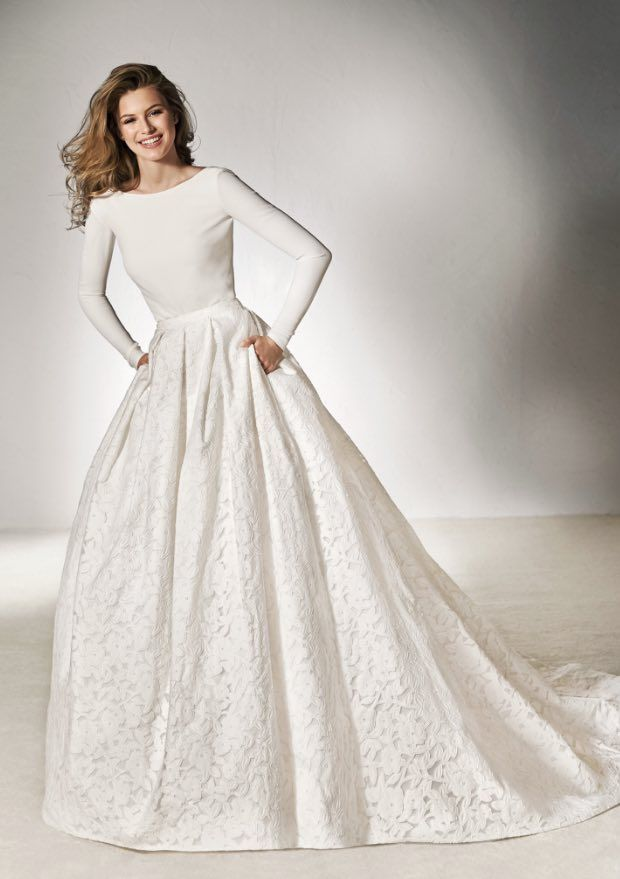 Pronovias Wedding Dress The Collection That Allows You Mix And