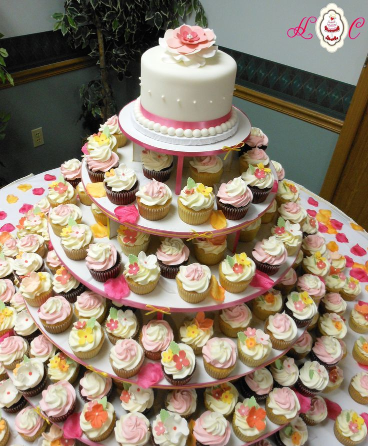 49 best Wedding Cupcakes images on Pinterest   Cake wedding, Cup ...