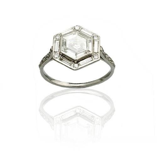 An Art Deco diamond ring, bezel… - Fine Furniture and Decorative Arts - Bonhams - Antiques Reporter