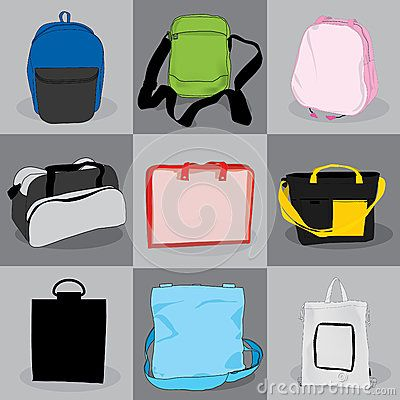 Collection bag children and adults