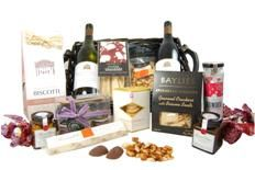 Gourmet Basket offers an exquisite range of gourmet food, wine, pamper and baby gifts for business, events and consumers. We source the finest, award winning gourmet produce as well as major brand names in compiling our gorgeous gift hampers. In this way we seek to differentiate ourselves from the myraid of hamper companies that offer gifts with inferior products, unknown or never heard of brands and items you simply find at your local supermarket.