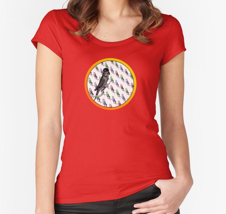 Star Birds t-shirt @redbubble #birds #troopers #darthvader #starwars #budgies #stormtroopers #mashup #parody #red #girlswear #leisurewear #fun #fun #tshirts #redbubble