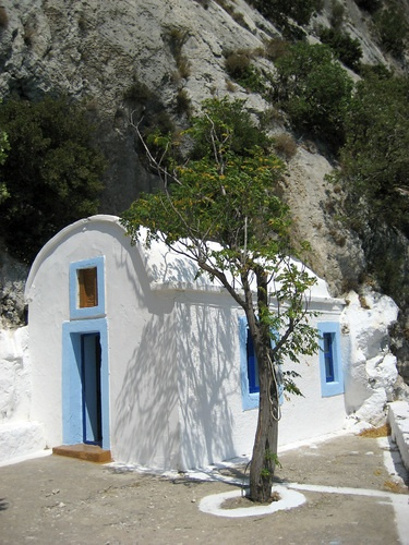 Agios Yiannis Theologos church in Samos