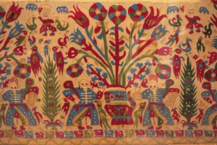 Epirus Embroidery, Ottoman period, circa 1700, Benaki Museum, Athens