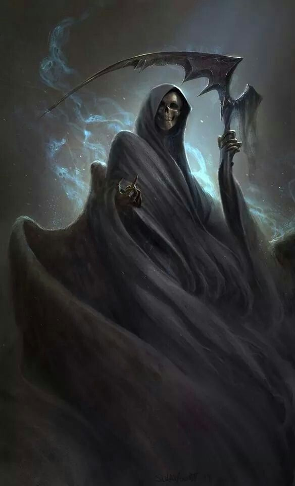 Grim Reaper or Chosen of Death Deity
