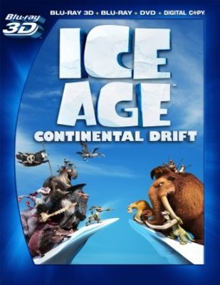 Ice Age: Continental Drift (2012) movie #poster, #tshirt, #mousepad, #movieposters2