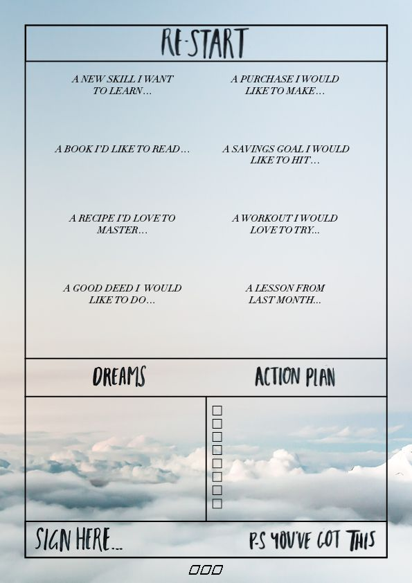 Best Goal Setting Worksheets  Printables Images On