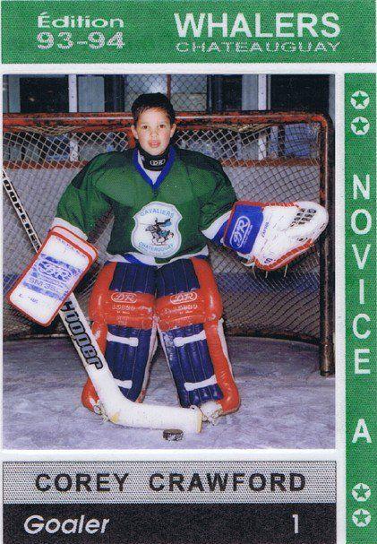 Corey Crawford - NHL Players as Kids