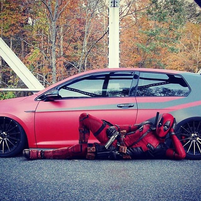 GTI/DEADPOOL 😀🔞 __________________________________________ #volkswagen #vw #golf #scirocco #tiguan #passat #audi #vag #vagtuning #vagsport #vossen #bbs #sline #quattro #tuning #porsche #panamera #technology #interior #luxury #comfort #elegance #entertainment #sport #roads #roadtrip #weekend #adventure #driving __________________________________________ Owner @lucid_customz 💪