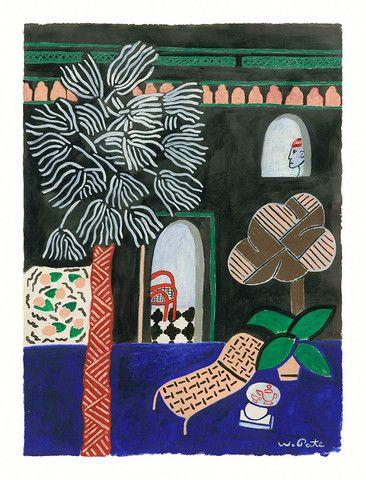 Scene Mediterranean // Wayne Pate - Tiger Flower Studio